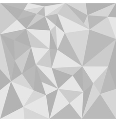 Grey triangle background or flat seamless pattern vector image vector image