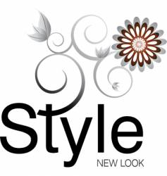 style logo vector image