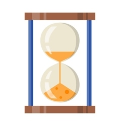 Sand clocks vector