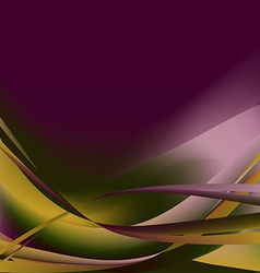Colorful flower isolated abstract background autum vector
