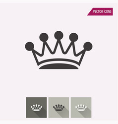 Crown - icon vector