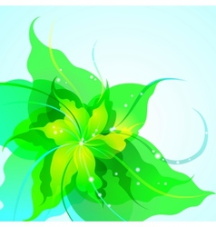 EPS10 flower background vector image