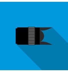 Interchangeable lens digital camera icon vector