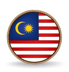 Malaysia seal vector