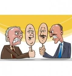 politicians vector image vector image