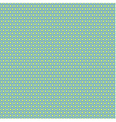 Seamless geometric pattern with blue rhombuses vector