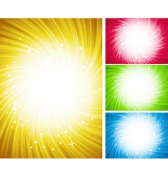 shining color background vector image vector image