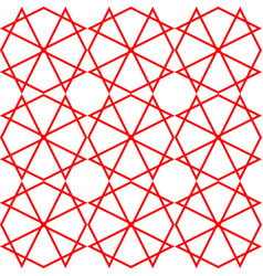 Tile pattern or red and white wallpaper background vector
