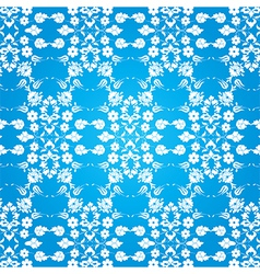 background with seamless pattern seven vector image vector image