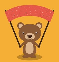 Cute animal vector image