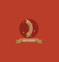 macaroni vector image vector image