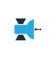 satellite colorful icon symbol premium quality vector image vector image