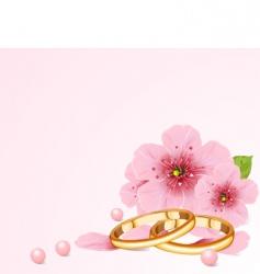wedding concept vector image vector image