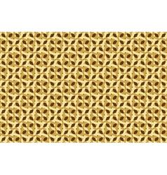wickerwork pattern vector image vector image