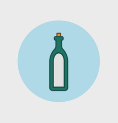 Alcohol sign icon drink symbol bottle vector