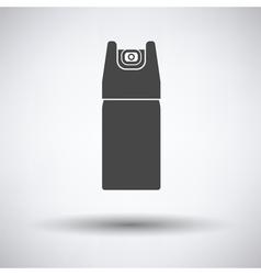 Pepper spray icon vector