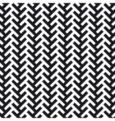 chevron cross pattern background vector image vector image
