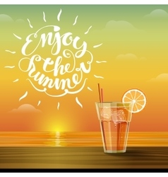 lemonade on the horizon vector image
