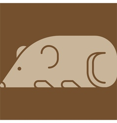 Mouse icon vector