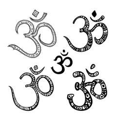 om symbol aum ohm vector image