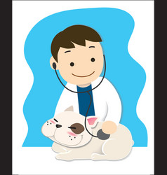 Pet doctor vector