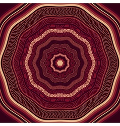 Seamless Marsala Ethnic Pattern vector image vector image