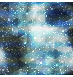 space seamless pattern with grunge effect vector image vector image