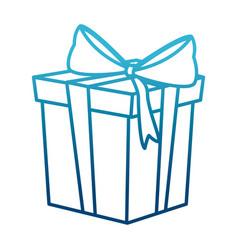 giftbox surprise present vector image