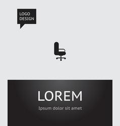 of bureau symbol on office vector image vector image