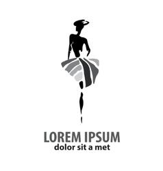 shop logo vector image vector image
