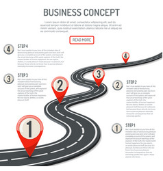 business and progress concept vector image