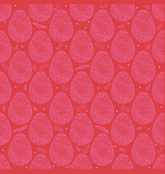 Pattern eggs8 vector