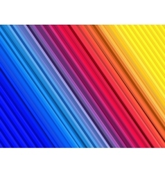 Abstract colorful background with straight lines vector