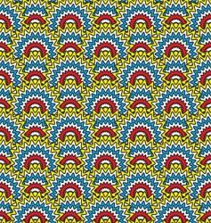 aertex star burst vector image vector image