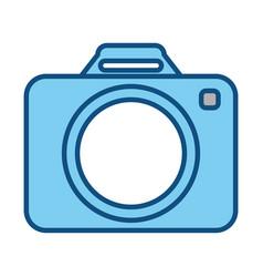 camera draw classic vector image