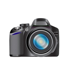 DSLR camera vector image vector image
