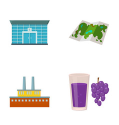 Finance oil refinery and other web icon in vector