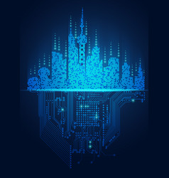 Light city vector
