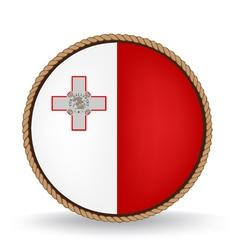 Malta seal vector