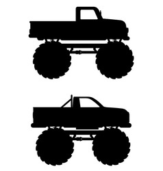 monster truck 04 vector image