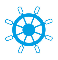 rudder icon image vector image vector image