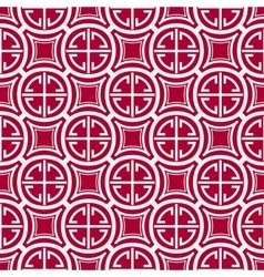 Seamless geometric pattern Imitation of Chinese vector image