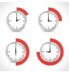 Timer set vector image