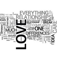 Are you satisfied with your mate text word cloud vector