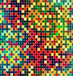 Mosaic seamless pattern vector
