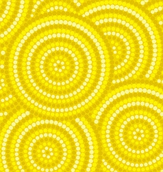 Abstract aboriginal dot painting in format vector