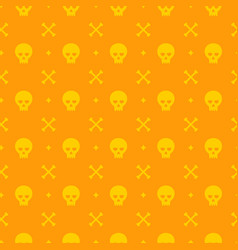 halloween seamless pattern design for vector image vector image