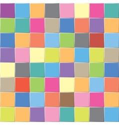 multicolored mosaic vector image vector image