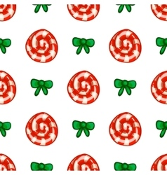 Seamless pattern with lollipop vector