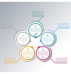 Set elements for infographics vector image vector image